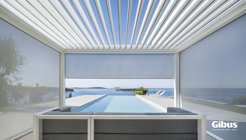 Fantastico Tende Veranda Foto Di Tenda Design